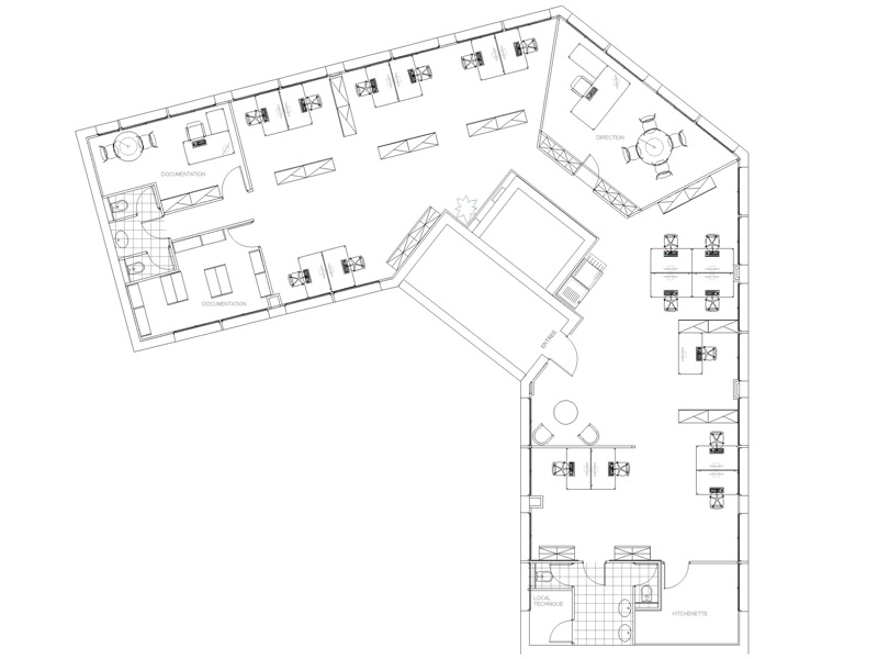 Plan d 39 am nagement de bureau minam - Amenagement buanderie photos plans ...
