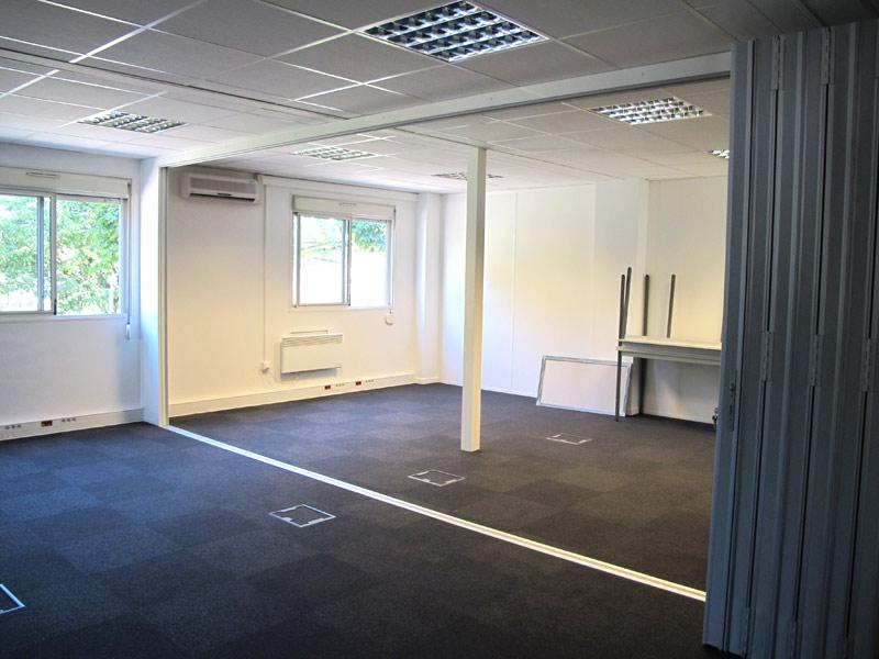 Mur mobile interieur modulaire knauf portes coulissantes - Bureau modulaire interieur ...