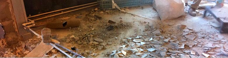 démolition - déconstruction