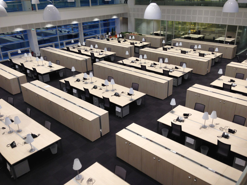 Am nagement de bureau en open space minam - Amenagement bureau open space ...