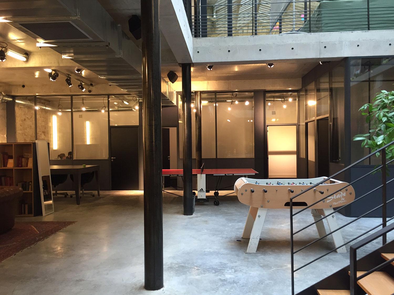 amso am nagement de bureau en open space. Black Bedroom Furniture Sets. Home Design Ideas