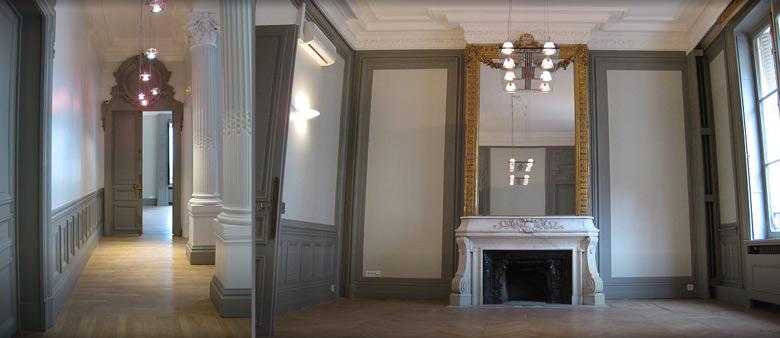 am nagement d 39 espace de travail mobilier de bureau paris d coration de bureau de travail amso. Black Bedroom Furniture Sets. Home Design Ideas