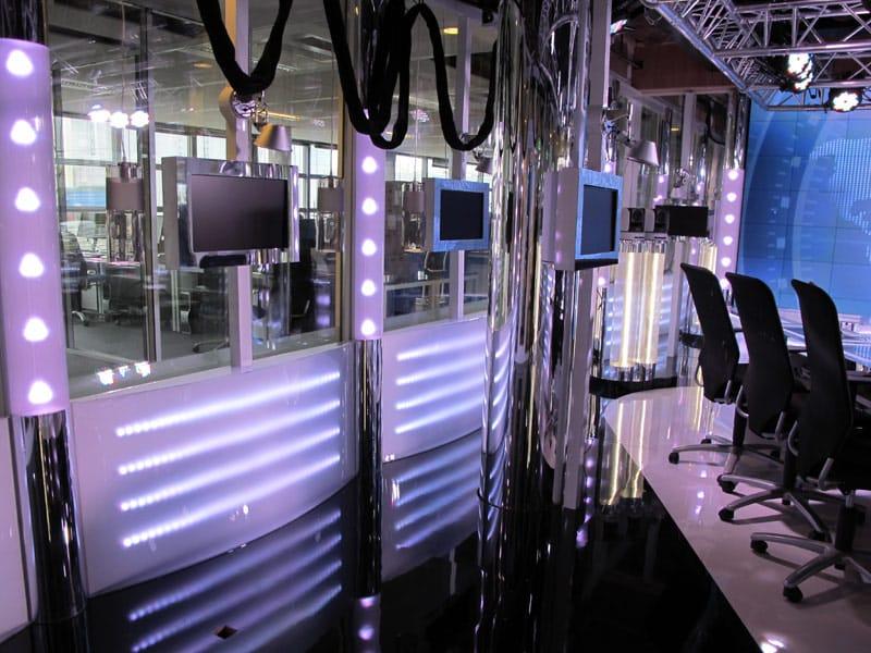 Aménagement plateau TV