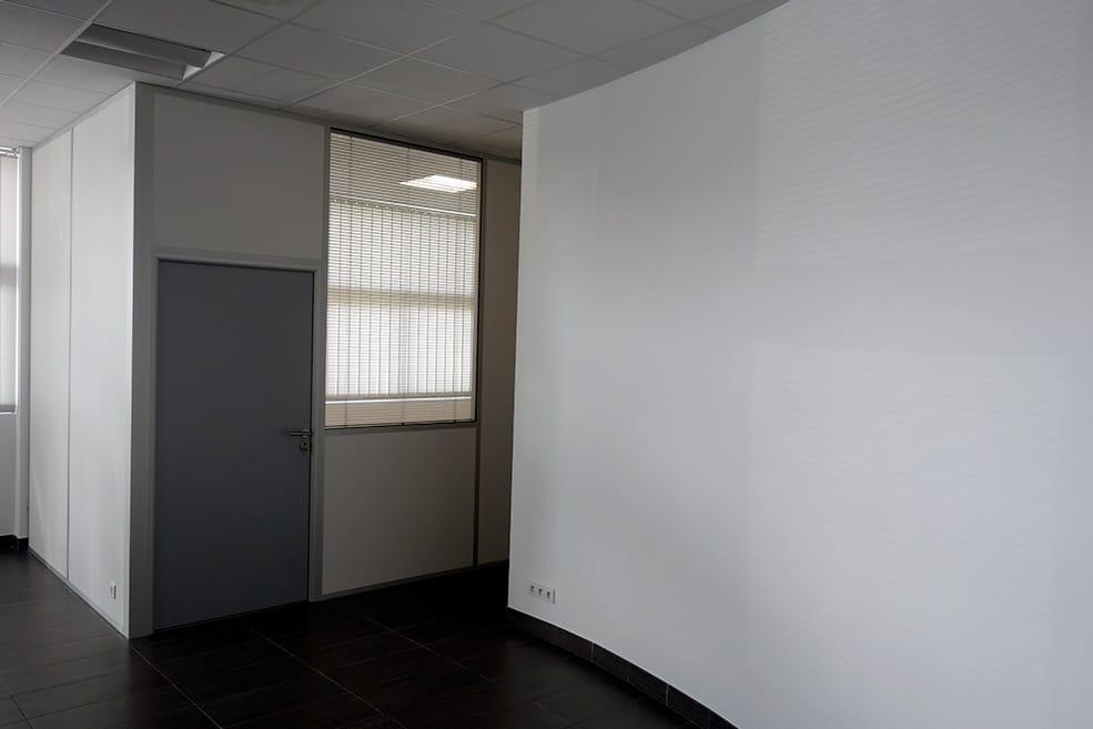 Aménagement bureau et mezzanine d'entrepôt