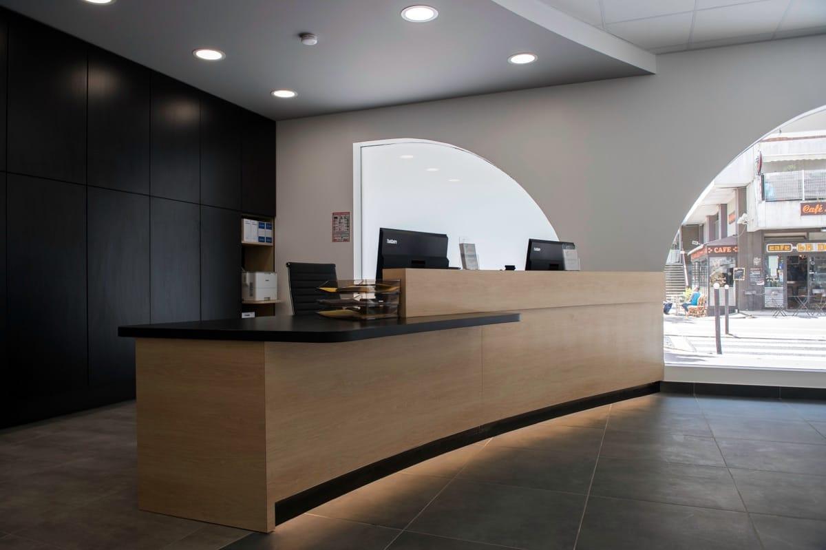 Aménagement cabinet dentaire Paris