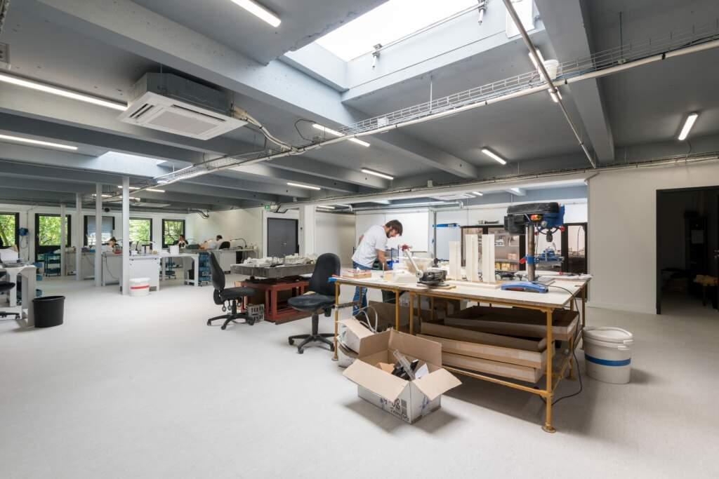 Aménagement atelier Paris