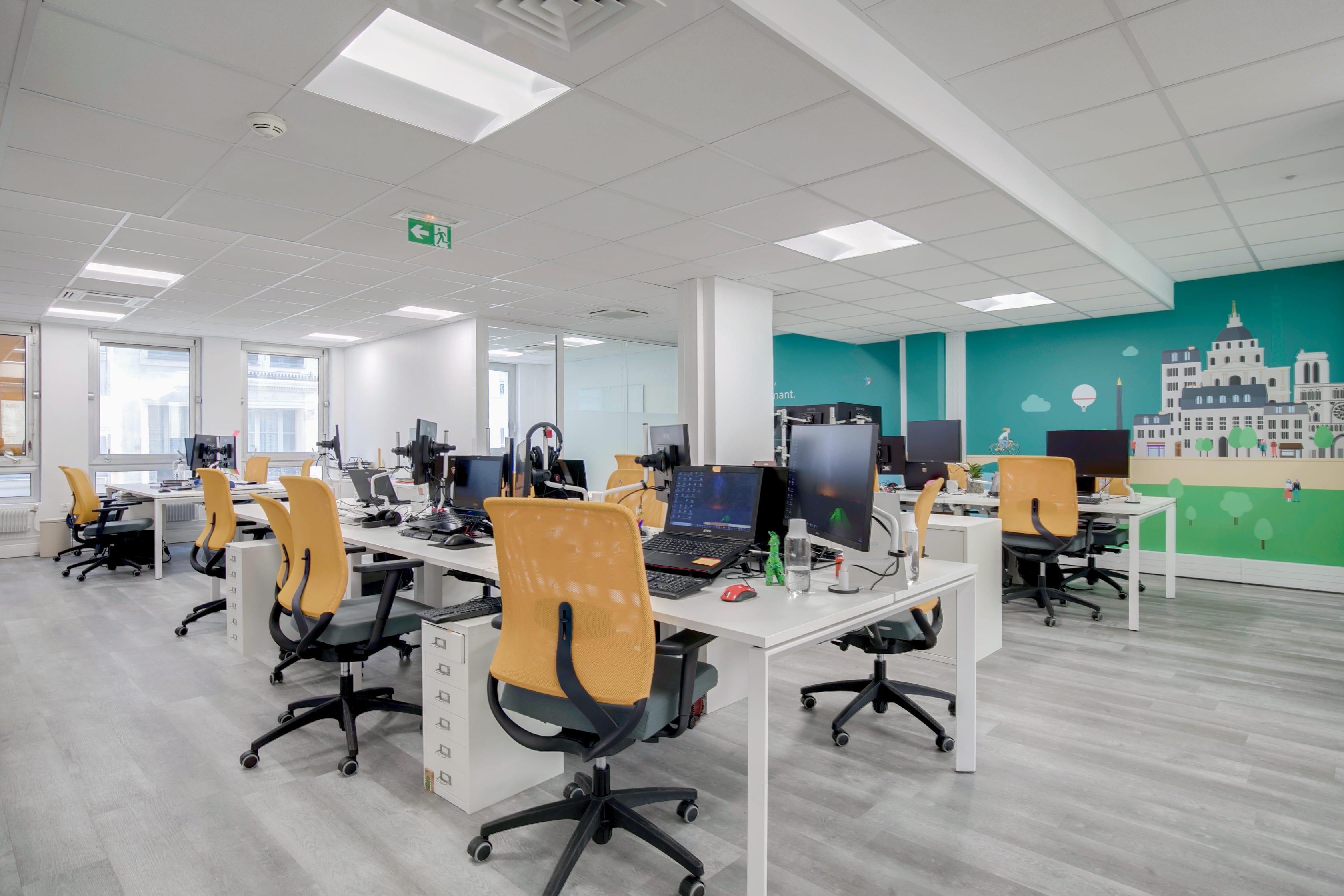 Décoration Murale Bureau Entreprise aménagement bureau en entreprise : l'expertise d'amso