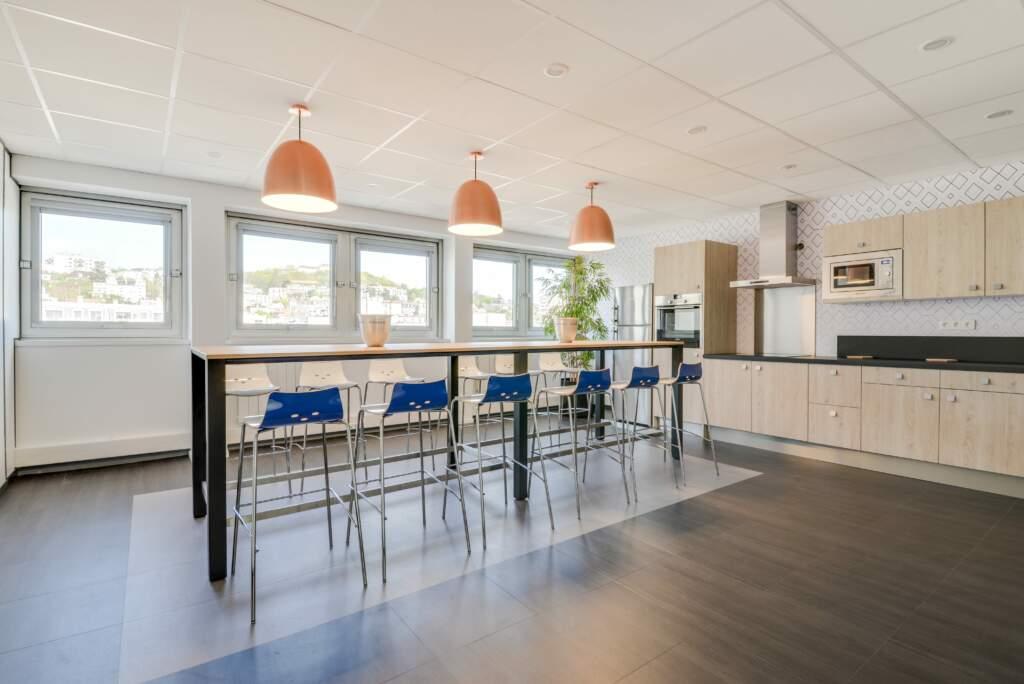 Rénovation cuisine de bureau