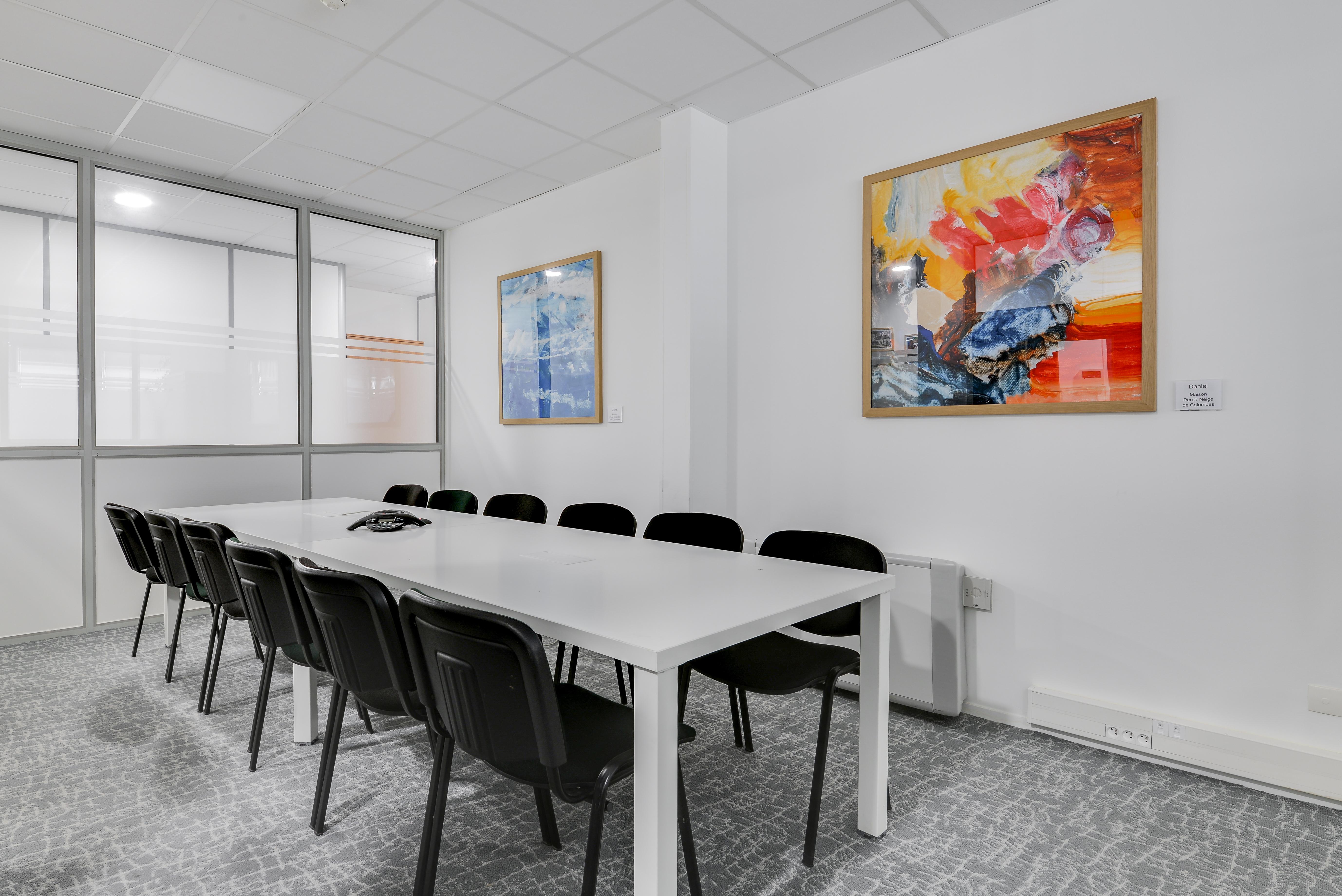 Aménagement bureau fondation Paris