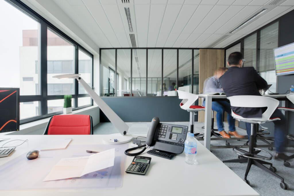 amenagement bureaux rosny sous bois 006 1024x683 - Aménagement plateau de bureau Rosny-sous-Bois