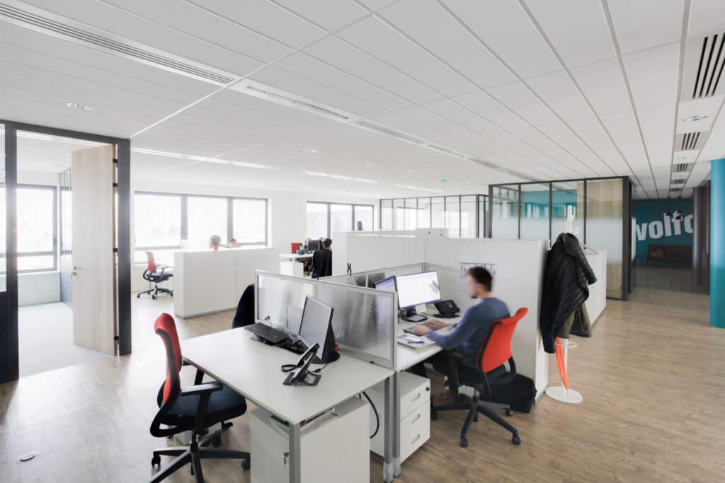 amenagement bureaux rosny sous bois 008 1024x683 - Aménagement plateau de bureau Rosny-sous-Bois