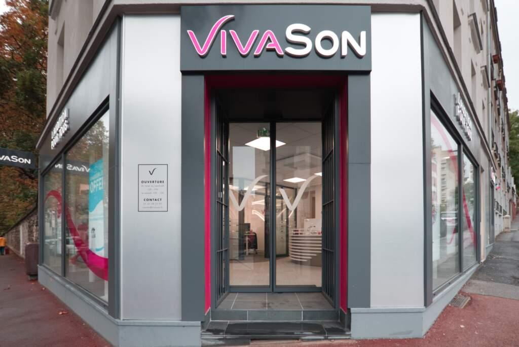 creation magasin correction auditive 002 1024x684 - Aménagement centre audioprothésiste - boutique de correction auditive