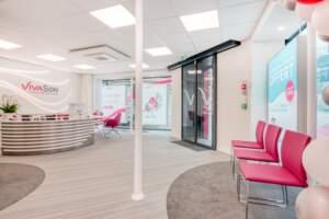 creation magasin correction auditive 004 300x200 - Aménagement centre audioprothésiste - boutique de correction auditive