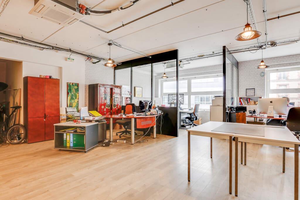 renovation bureau montreuil 004 1024x683 - Aménagement d'une maison d'édition