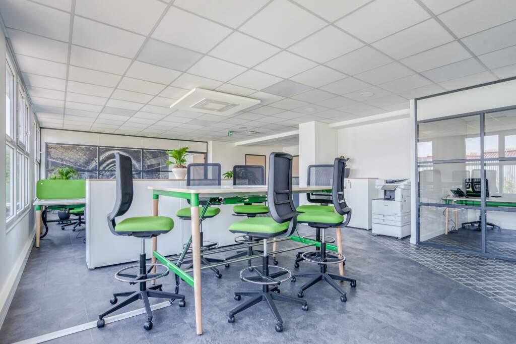 amenagement bureau montreuil 5 1024x682 - Aménagement société de transports écologiques à Montreuil