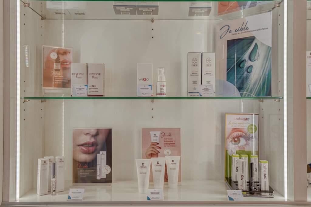 amenagement boutique esthetique medicale 1 1024x682 - Aménagement d'un commerce de produits d'esthétique médicale