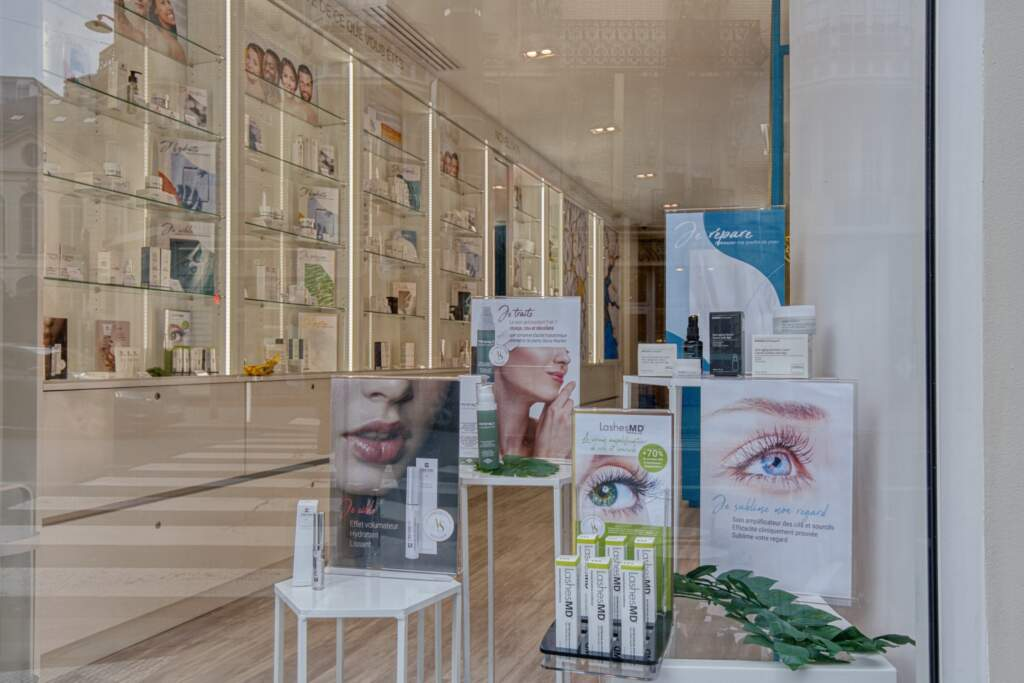 amenagement boutique esthetique medicale 10 1024x683 - Aménagement d'un commerce de produits d'esthétique médicale