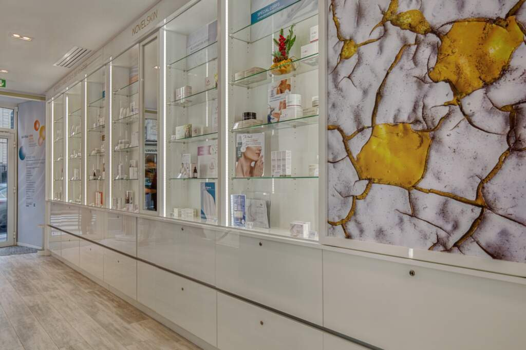 amenagement boutique esthetique medicale 12 1024x682 - Aménagement d'un commerce de produits d'esthétique médicale