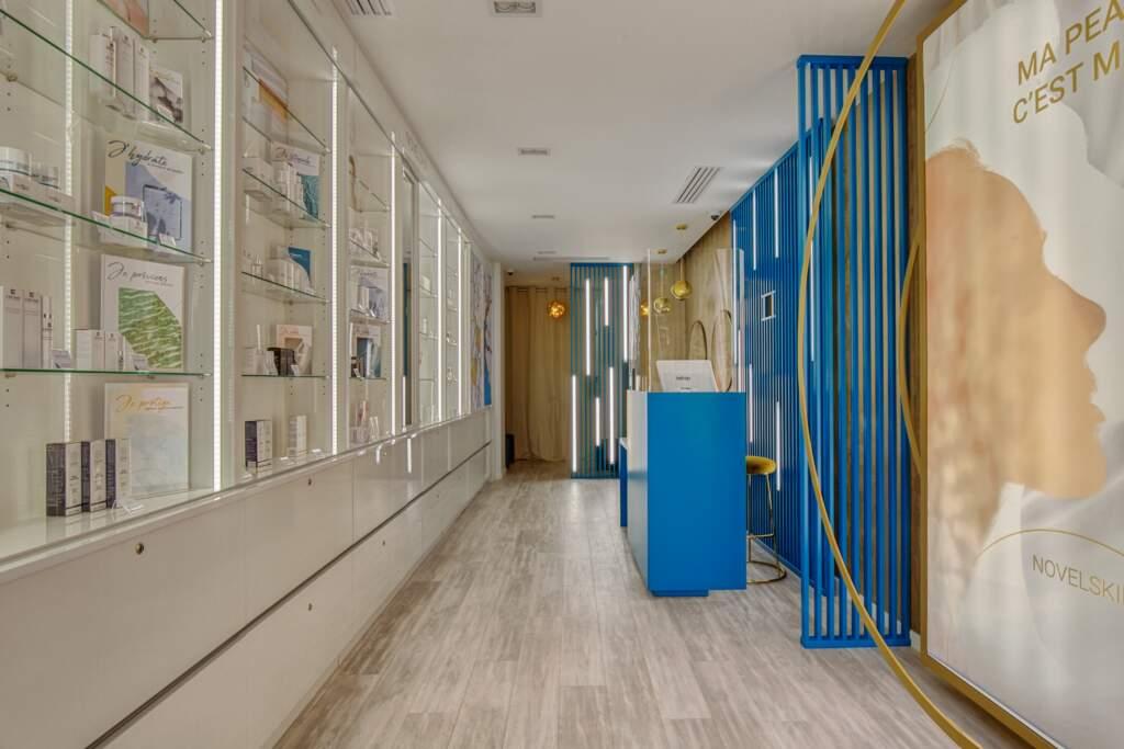 amenagement boutique esthetique medicale 15 1024x683 - Aménagement d'un commerce de produits d'esthétique médicale