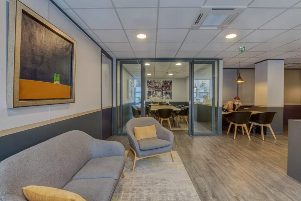 amenagement agcence immobiliere boulogne 11 1024x682 - Création d'une agence immobilière Century 21 à Boulogne Billancourt