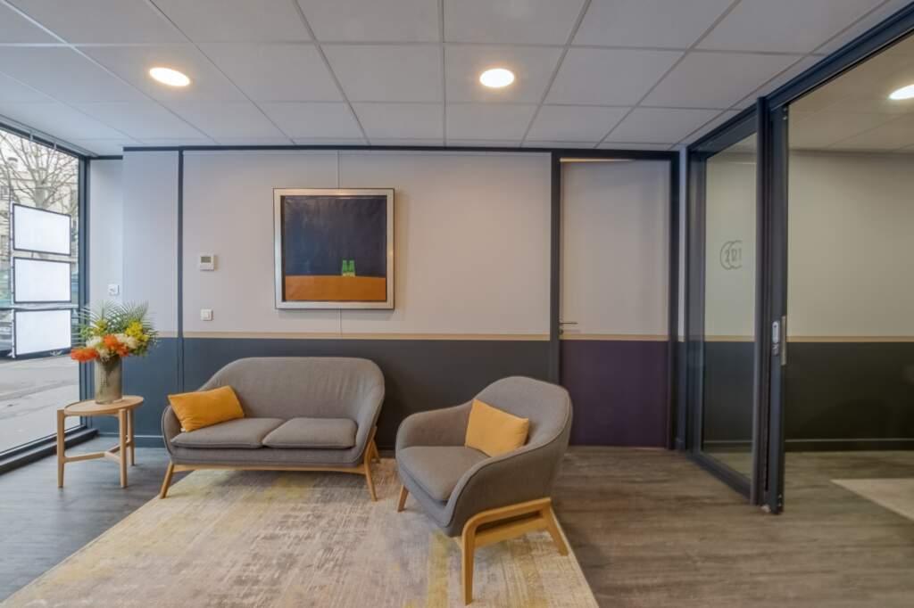 amenagement agcence immobiliere boulogne 3 1024x682 - Création d'une agence immobilière Century 21 à Boulogne Billancourt