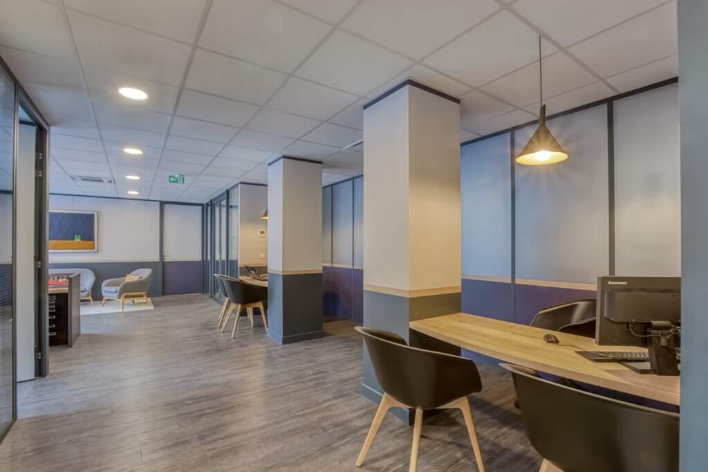 amenagement agcence immobiliere boulogne 5 1024x682 - Création d'une agence immobilière Century 21 à Boulogne Billancourt