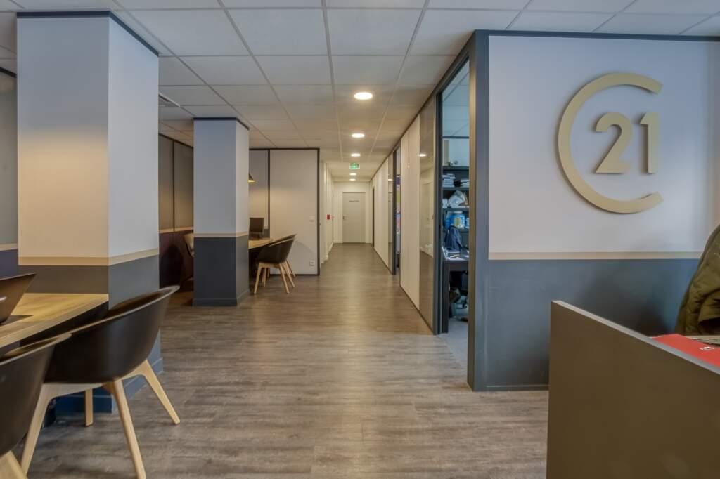 amenagement agcence immobiliere boulogne 6 1024x682 - Création d'une agence immobilière Century 21 à Boulogne Billancourt