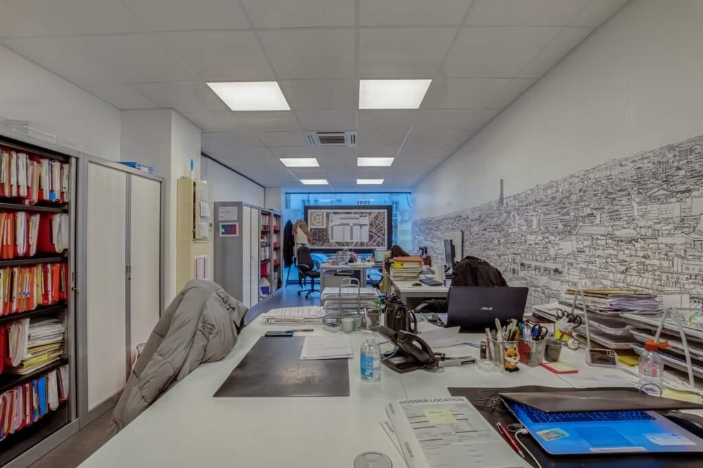 amenagement agcence immobiliere boulogne 8 1024x682 - Création d'une agence immobilière Century 21 à Boulogne Billancourt