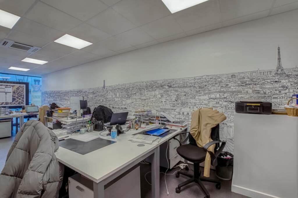 amenagement agcence immobiliere boulogne 9 1024x682 - Création d'une agence immobilière Century 21 à Boulogne Billancourt