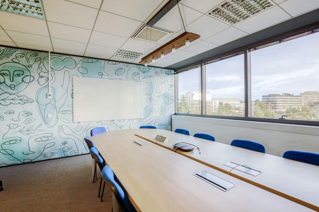 amenagement societe de conseil industriel velizy 7 1024x682 - Aménagement de bureaux filiale du groupe VINCI