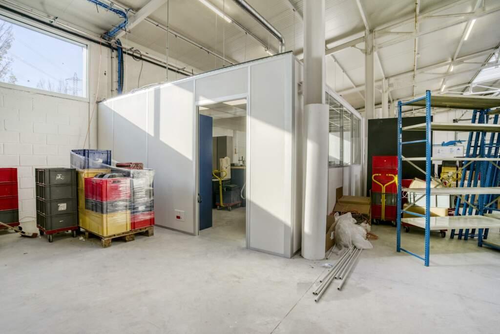 amenagement mezzanine batiment industriel 5 1024x684 - Création mezzanine et bureau dans bâtiment industriel