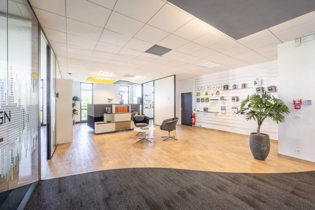 amenagement bureau design paris ouest 1 1024x683 - Aménagement bureau flex office