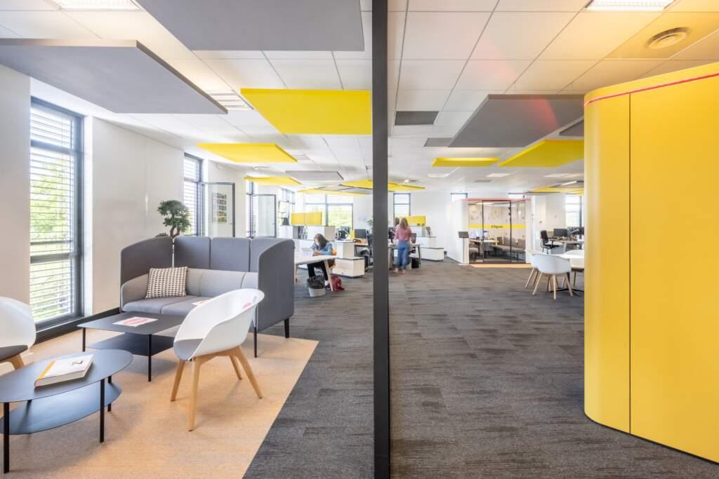 amenagement bureau design paris ouest 16 1024x683 - Aménagement bureau flex office