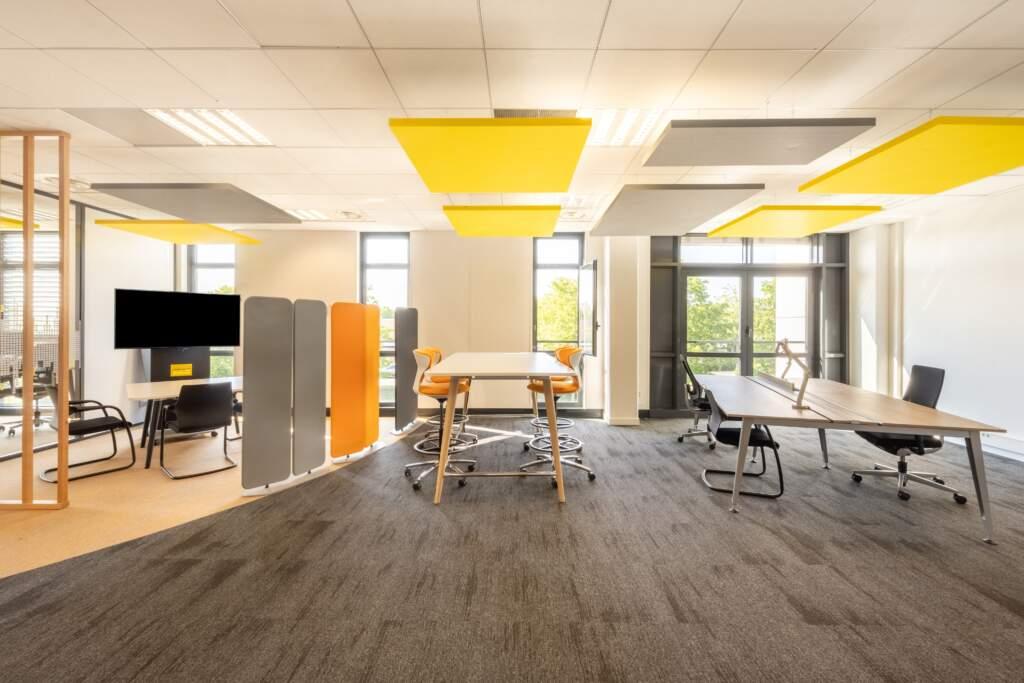 amenagement bureau design paris ouest 17 1024x683 - Aménagement bureau flex office