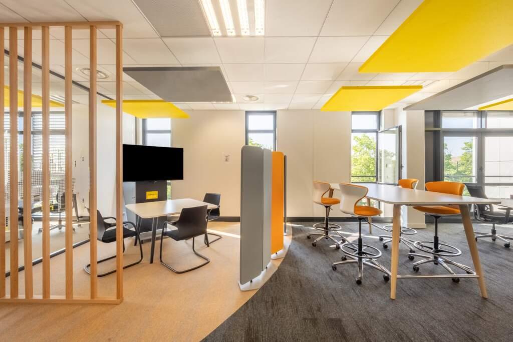 amenagement bureau design paris ouest 19 1024x683 - Les nouveaux espaces de travail : un changement de paradigme