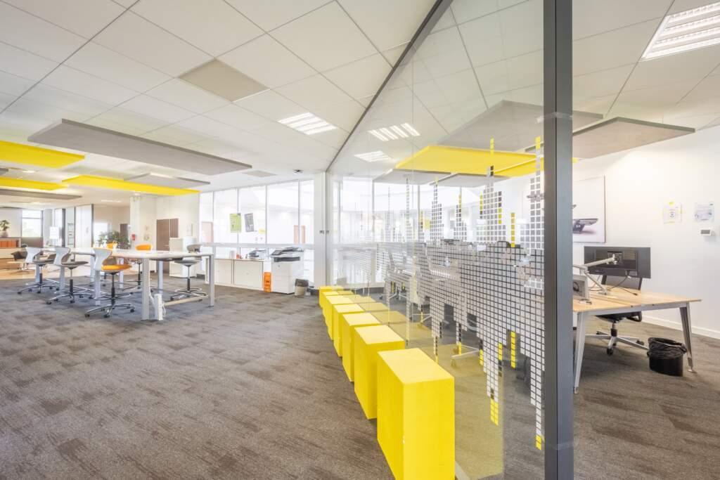 amenagement bureau design paris ouest 9 1024x683 - Aménagement bureau flex office