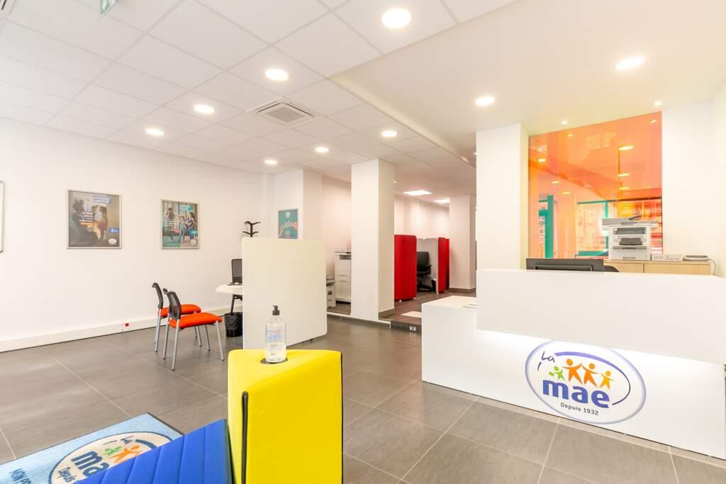 amenagement bureaux mutuelle paris 4 1024x683 - Création d'une agence mutuelle MAE à Paris
