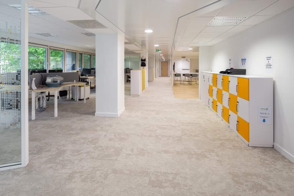amenagement bureaux issy les moulineaux 5 1024x683 - Aménagement de bureaux à Issy-les-Moulineaux