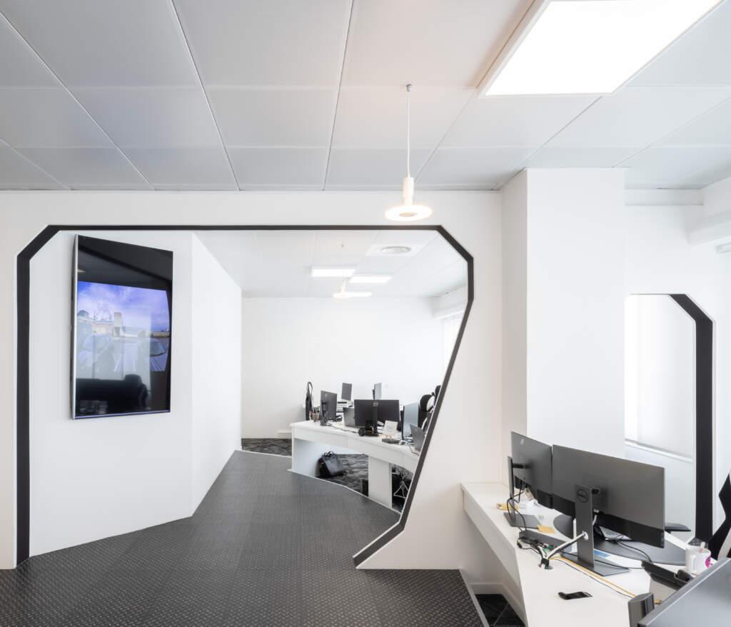 amenagement bureau ivry sur seine 4 1024x878 - Aménagement de bureau et prestation d'architecte d'intérieur à Ivry-sur-Seine