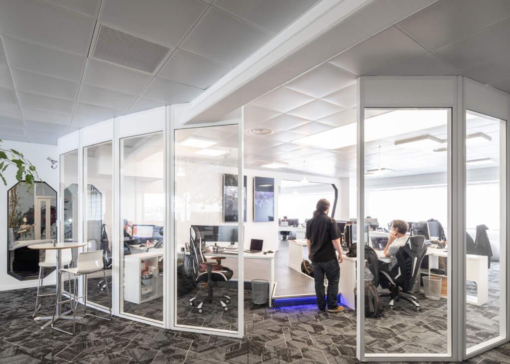amenagement bureau ivry sur seine 5 1024x731 - Aménagement de bureau et prestation d'architecte d'intérieur à Ivry-sur-Seine
